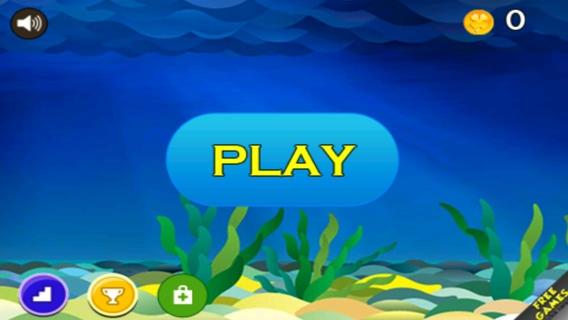 「フライング ・ フィッシュのアドベンチャー ゲーム:子供のための無料ゲーム: 最高の iphone と計算されたアプリケーション」のスクリーンショット 1枚目