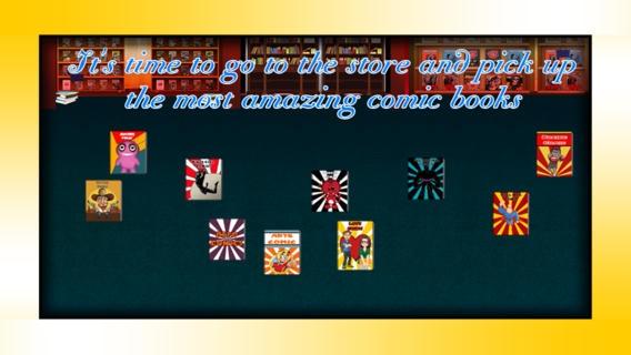 「漫画本のオタク:探求店スーパーヒーロー佐賀 - 無料版」のスクリーンショット 2枚目