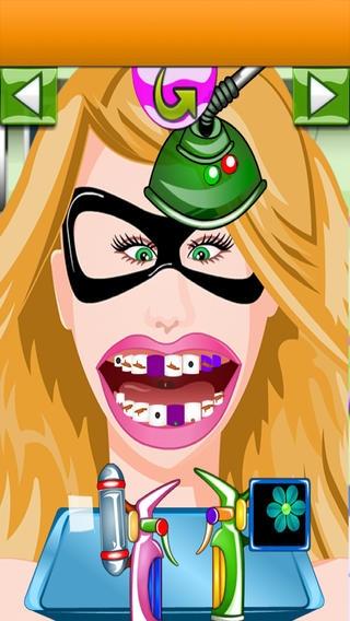 「A Superhero Dentist - 自由のための歯科医師、医師ゲーム」のスクリーンショット 3枚目
