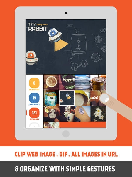 「Pickle - Smart Clipper (WEB IMAGE, GIF & SCREENSHOT) for iPad」のスクリーンショット 2枚目