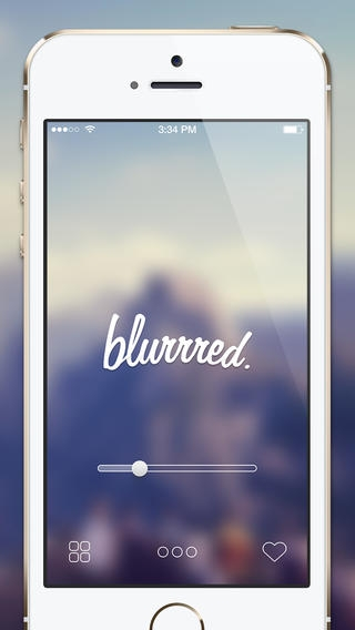 「blurrred. - Blur Your Wallpapers For iOS7」のスクリーンショット 3枚目