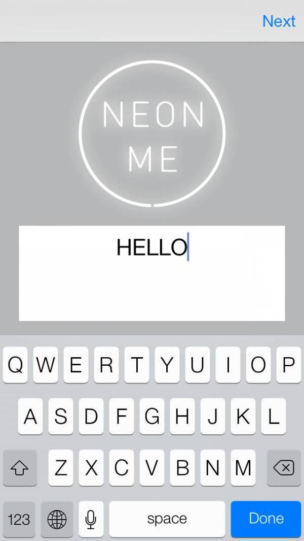 「NEON ME」のスクリーンショット 2枚目