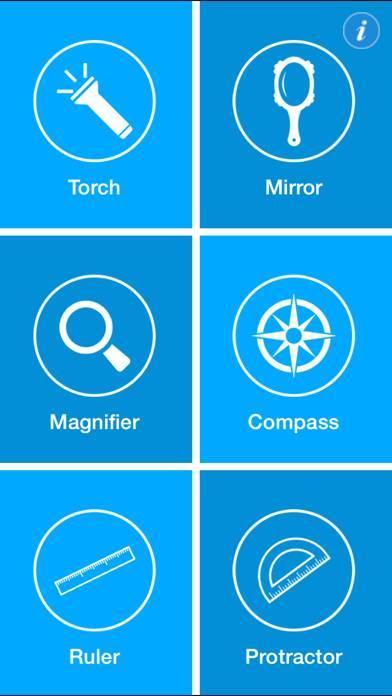 「便利なツールは、自由に - 6コンパス、懐中電灯、定規、ルーペ(拡大鏡)を、鏡とアーク分度器で1キットに!」のスクリーンショット 3枚目