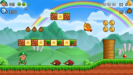 「Lep's World 3 無料 - スーパー最高のプラットフォーマーゲーム」のスクリーンショット 1枚目