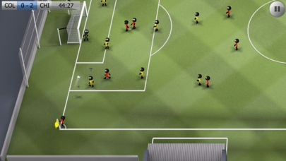 「Stickman Soccer」のスクリーンショット 2枚目