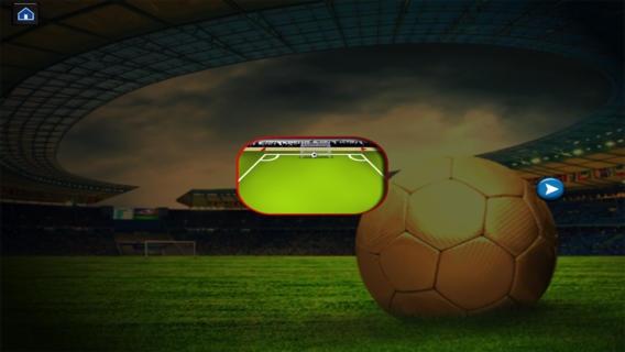 「サッカーのスーパーシュートマニア - フリックサッカー決勝 - 無料版」のスクリーンショット 2枚目