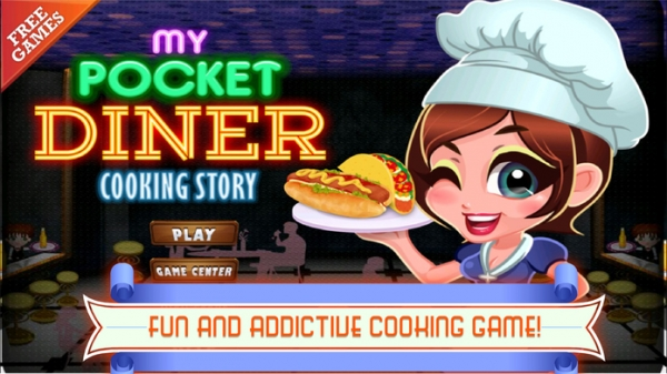 「A My Pocket Diner Cooking Story」のスクリーンショット 3枚目