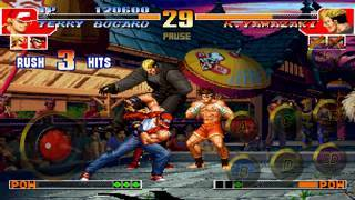 「THE KING OF FIGHTERS '97」のスクリーンショット 2枚目