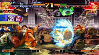 「THE KING OF FIGHTERS '97」のスクリーンショット 3枚目