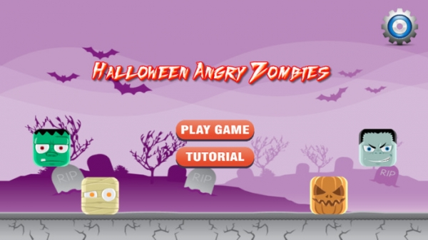 「Angry Baby Zombies」のスクリーンショット 1枚目