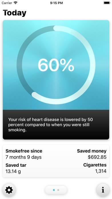 「Smokefree - Quit smoking」のスクリーンショット 2枚目