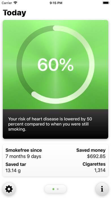 「Smokefree - Quit smoking」のスクリーンショット 1枚目