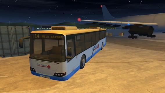 「Airport Bus Parking - Realistic Driving Simulator Free」のスクリーンショット 1枚目