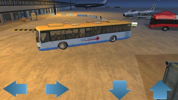 「Airport Bus Parking - Realistic Driving Simulator Free」のスクリーンショット 2枚目