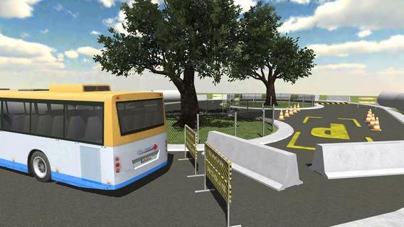 「Airport Bus Parking - Realistic Driving Simulator Free」のスクリーンショット 3枚目