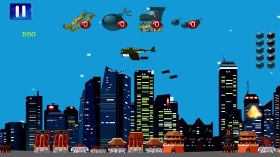 「WW2 爆撃機世界戦争 2 の無料ゲーム - WW2 Bomber World War Two Free Game」のスクリーンショット 3枚目