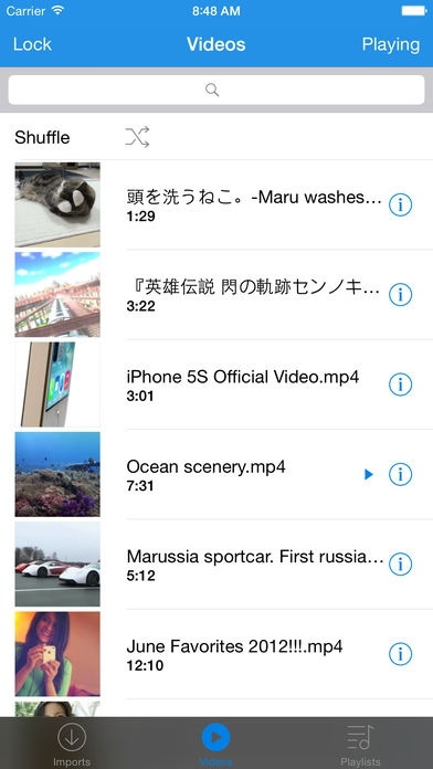 「Cloud Player Pro - Play Videos from Cloud」のスクリーンショット 2枚目