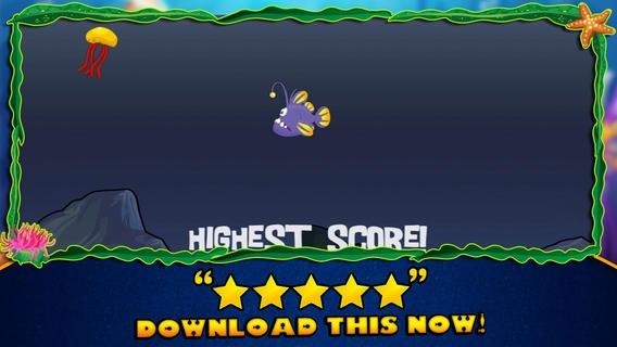 「ゼリー魚ゲーム - Jelly Fish Game」のスクリーンショット 3枚目