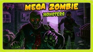「メガゾンビモンスター - ベスト超楽しいクレイジーポッパー戦略ゲーム (Mega Zombie Monsters - Best Super Fun Crazy Poppers Strategy Game)」のスクリーンショット 1枚目