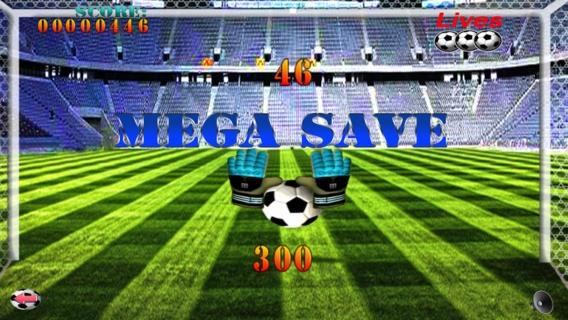 「サッカー無料ゲームを保存 - A Soccer Save Free Game」のスクリーンショット 2枚目