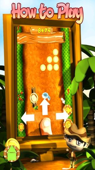 「Adventurer Jungle Mega Run」のスクリーンショット 2枚目