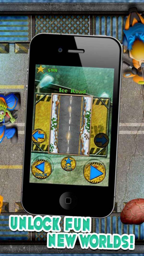 「ゾンビオートバイ無謀エスケープ:あなたがギャングのバイクレースハイウェイ暴動に耐えることができます - 無料で挑戦!」のスクリーンショット 3枚目