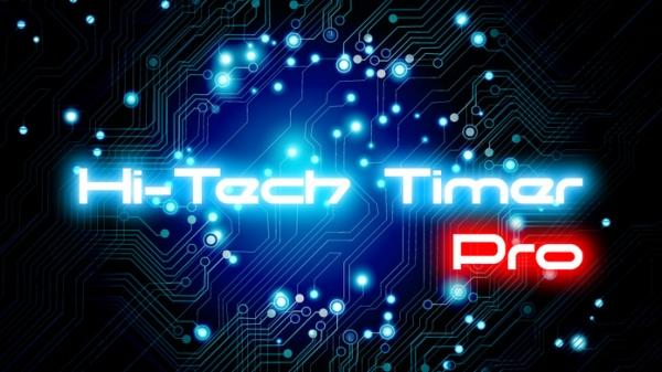 「Hi-Tech Timer Pro」のスクリーンショット 1枚目