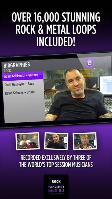 「SessionBand Rock 1」のスクリーンショット 3枚目