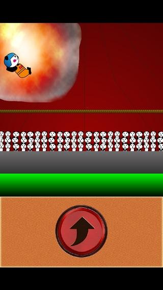 「パンちゃんサーカス ~タップでジャンプするだけの簡単ゲームなのに無理ゲー 激ムズ?無料ゲームアプリ~」のスクリーンショット 3枚目