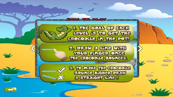 「Crocodile Egg - Avoid The Pitfall While Crossing」のスクリーンショット 2枚目