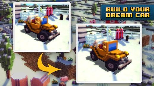 「Blocky Roads Winterland」のスクリーンショット 3枚目