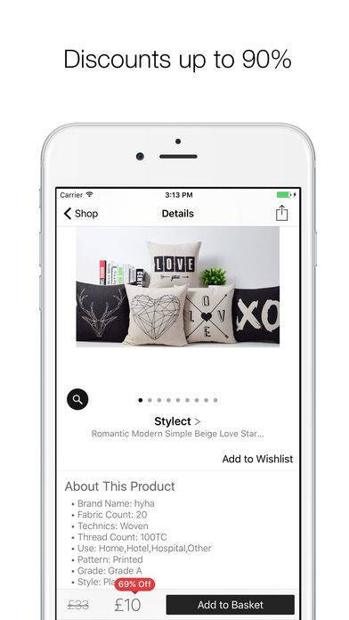 「Stylect - Find your Perfect Shoes!」のスクリーンショット 3枚目