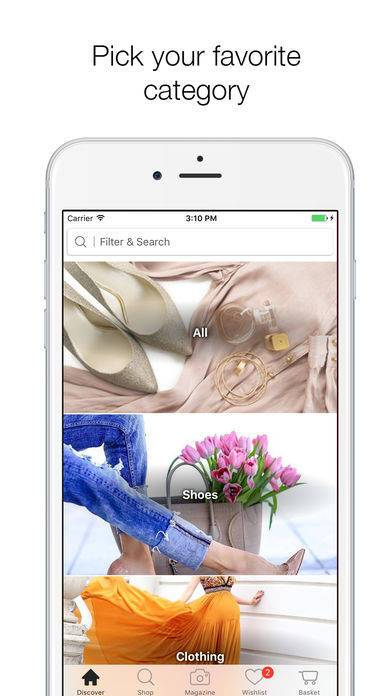 「Stylect - Find your Perfect Shoes!」のスクリーンショット 2枚目