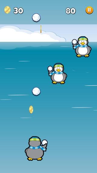 「ペンギンの雪合戦:アイスEditionで」のスクリーンショット 3枚目
