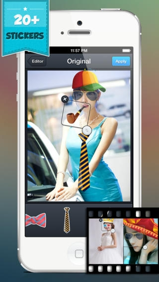 「Cool HDR Photo Editor - Make and Create Fast Quick Edit for Your Photos w/ Image Effect & Editing Effects」のスクリーンショット 3枚目