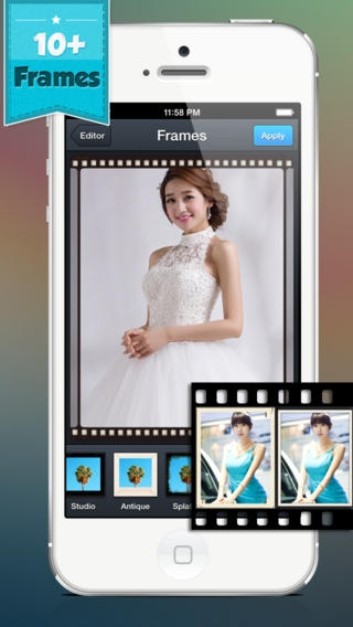 「Cool HDR Photo Editor - Make and Create Fast Quick Edit for Your Photos w/ Image Effect & Editing Effects」のスクリーンショット 2枚目