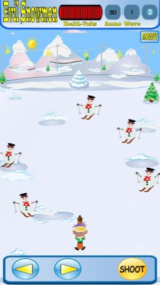 「Evil SnowMen」のスクリーンショット 3枚目