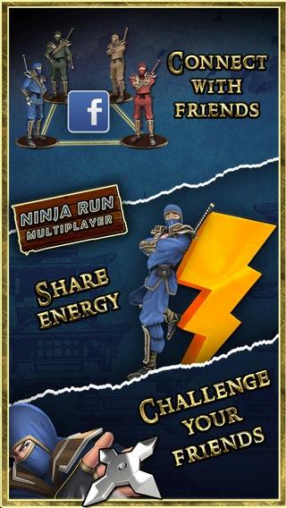 「Ninja Run Multiplayer 3D Racing: Free Racing Games」のスクリーンショット 3枚目