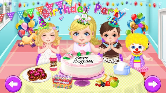 「Baby Care & Play - Birthday Party」のスクリーンショット 1枚目