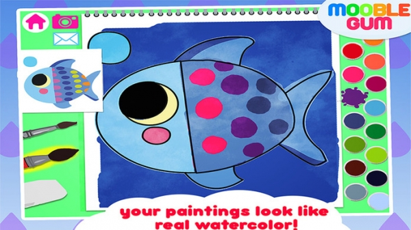 「My First Coloring Book - painting app for toddler and  kids」のスクリーンショット 2枚目