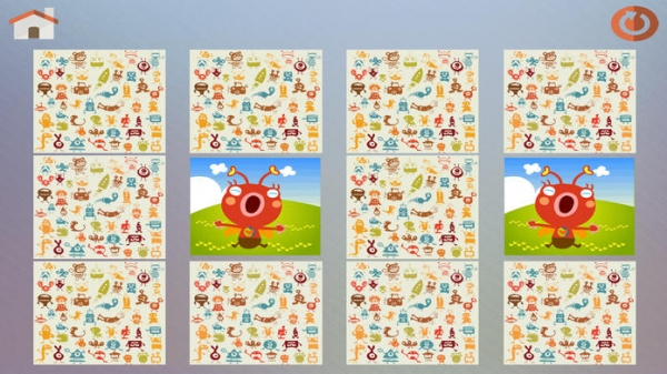 「Monster Games - 10 funny aliens and freaky monsters themed games for Preschool and Kindergarten kids」のスクリーンショット 2枚目