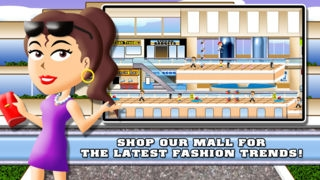 「Modern Fashion Girl Superstar FREE - My High School Shopping Mall Dress Up World」のスクリーンショット 2枚目