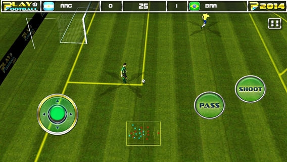 「Play Football 2014 Real Soccer - Fantasy Simulation and a Comprehensive Manager Sports Game For iPhone and iPad Pro」のスクリーンショット 1枚目