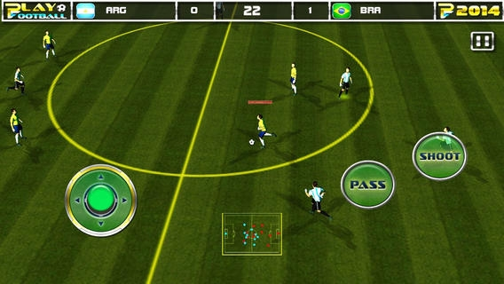 「Play Football 2014 Real Soccer - Fantasy Simulation and a Comprehensive Manager Sports Game For iPhone and iPad Pro」のスクリーンショット 2枚目