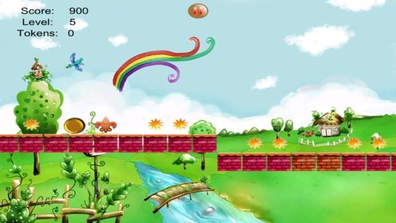 「習慣性ローリング ボール プラットフォーム ゲーム プロのフルバージョン - Addictive Rolling Balls Platform Game Pro Full Version - Avoid the Spikes with your Red B」のスクリーンショット 3枚目
