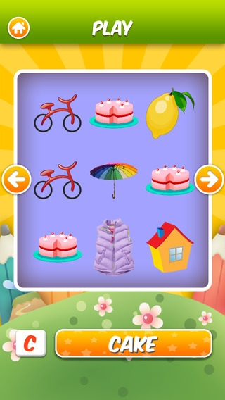 「ABC Flashcards HD - The Best flash cards game app for children」のスクリーンショット 2枚目