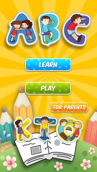 「ABC Flashcards HD - The Best flash cards game app for children」のスクリーンショット 3枚目