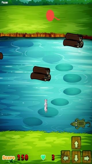 「猫の交差点無料ゲーム - A Cat Crossing Free Game」のスクリーンショット 2枚目
