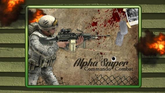 「Alpha Sniper Commando Combat - Clear Army Killer Battle」のスクリーンショット 1枚目