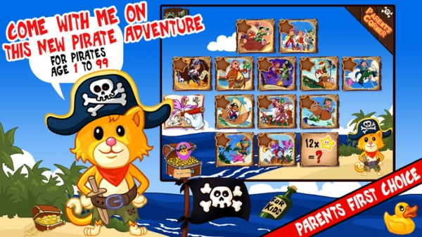 「My Pirates Puzzles - Mr. Pepper's Pirate Puzzle For Preschool Kids and Toddlers」のスクリーンショット 3枚目
